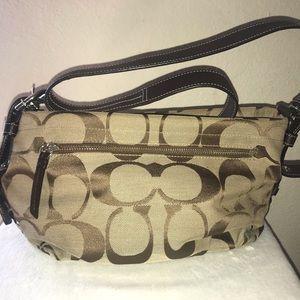 Signature Canvas crossbody/shoulder bag